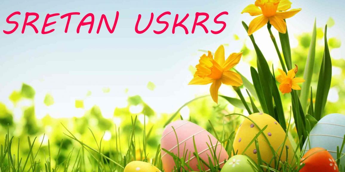 Sretan i blagoslovljen Uskrs žele Vam zaposlenici Humplin-a d.o.o. !